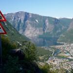 På veg mot Øvre Årdal