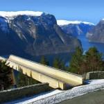 Utsikt over Aurlandsfjorden